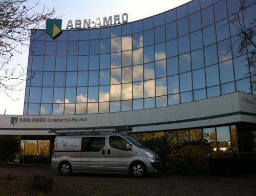 Glasbewassing ABN AMRO Commercial Finance 's-Hertogenbosch